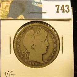 1896 P Barber Half Dollar, G.