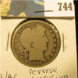 1896 O Barber Half Dollar, G/AG.