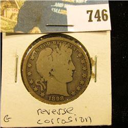 1898 P Barber Half Dollar, G.