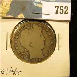1900 S Barber Half Dollar, G/AG.