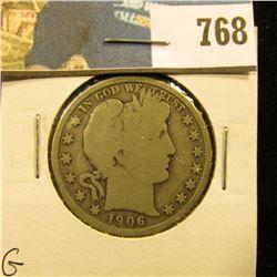 1906 D Barber Half Dollar, G.