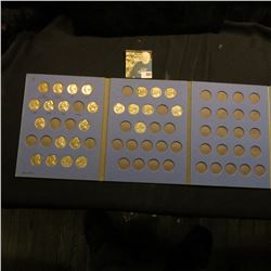 1962-76 Partial Set of Jefferson Nickels. Many are high grade. Stored in a blue Whitman folder.