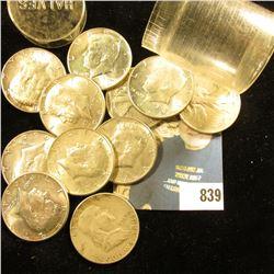 Group of (11) 90% Silver U.S.Half Dollars.