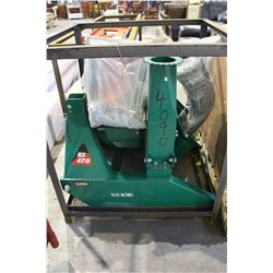 4 INCH PTO WOOD CHIPPER WITH THREE POINT HITCH - BRAND NEW