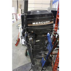 MERCURY OUTBOARD MOTOR WITH STAND