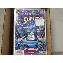 25 SUPERMAN/BATMAN & ROBIN COMICS