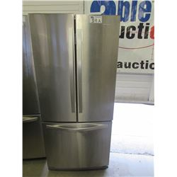 """WHIRLPOOL STAINLESS STEEL FRIDGE WITH ROLL OUT FREEZER MODEL WRF560SFYM05 (30""""W X 34""""D X 68.5""""H)"""