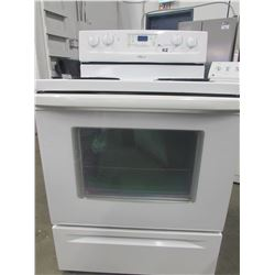 """WHITE WHIRLPOOL 4 BURNER STOVE WITH SELF CLEAN (30""""W X 27""""D X 47""""H)"""