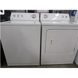 """MATCHING WHIRLPOOL ULTIMATE CARE 2 WASHER & DRYER UNITS (27""""W X 25.5""""D X 43""""H)"""