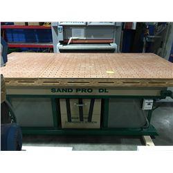 SAND PRO DL AIR TABLE 4'x 8' SANDING TABLE