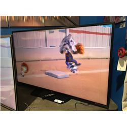 """SHARP 70"""" LCD TV WITH REMOTE (TINY VERTICAL LINE RIGHT SIDE OF SCREEN)"""