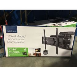 """INSIGNIA FULL MOTION TV WALL MOUNT FITS 47-80"""" TV"""