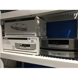 BOSE WAVE MUSIC SYSTEM WITH MULTI CD CHANGER