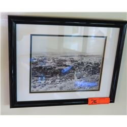 "Framed Black & White Photo Print, 16"" x 12"""