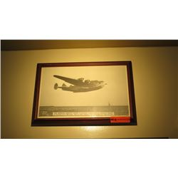Black & White Print: 1942 Panamerican Airways Clipper