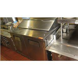 "True TSSU-48-12-HC Refrigerated Food Prep Table, 48"" X 30"" X 36""H"