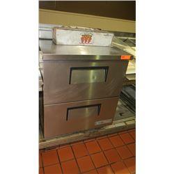 "True 2-Drawer TWT-27D-2-HC Worktop Refrigerator, 27"" X 30"" X 33""H"