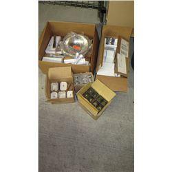 Misc. Ceramic Dishes, Flatware, Glassware, Cutlery