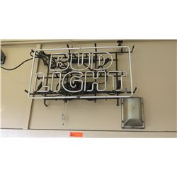 Bud Light Neon Sign (does not turn on)