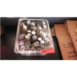 Lot of Glass Salt & Pepper Shakers