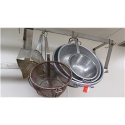 Misc. Strainers (Various Sizes)