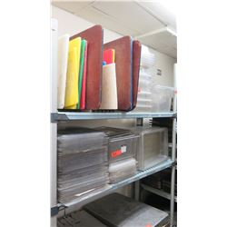 Food Storage Containers (Various Sizes), Cutting Boards