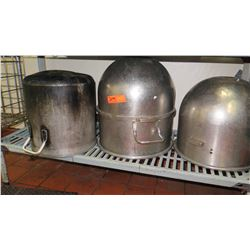 Large Stock Pots, Large Mixing Bowls
