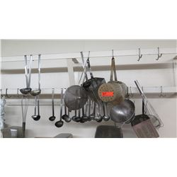 Misc. Strainers, Whisks, Ladles, Cheese Grater, etc.