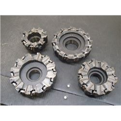 """LoveJoy Tool, 4"""", 5"""" (2) 6"""" Indexable Face Mills"""