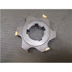 """Ingersoll 3.5"""" x 3/4"""" Indexable Slot Milling Cutter, P/N: 36J6B0312-05"""
