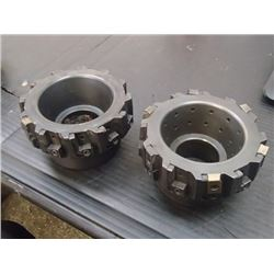 """Ingersoll 4"""" Indexable Face Mills, P/N: 6K2A04R01"""