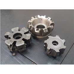 Misc Indexable Face Mills, Missing Insert set Screws