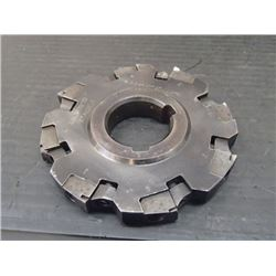 """Sandvik 4"""" x 1/2"""" Indexable Slot Milling Cutter, P/N: A331.2-10012-0"""