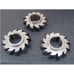 "Gorham 2.5"" x 13/32"" HSS Milling Units"