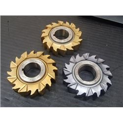 """2.5"""" x 5/8"""" Carbide Tipped Slot Milling Cutters, No Manufacturer Info"""