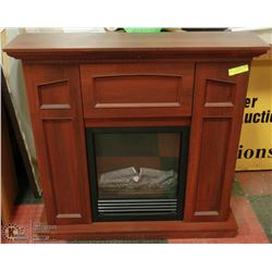 "CONVERTIBLE ELECTRIC FIREPLACE 38"" X 37"""
