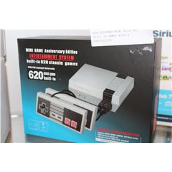NEW NINTENDO MINI WITH 620 BUILT IN GAMES WITH 2 CONTROLLERS