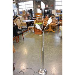 METAL MULTI HEADED LAMP