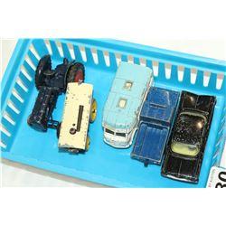 TRAY OF DINKI DIE CAST CARS