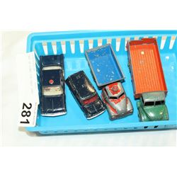 TRAY OF DINKI DIE CAST CARS