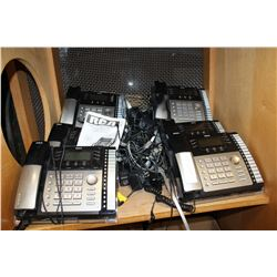 RCA TELEPHONE AND INTERCOM SET 8 UNITS AND CHARGERS ETC