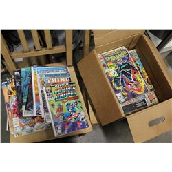 BOX OF MARVEL AND OTHER COMICS