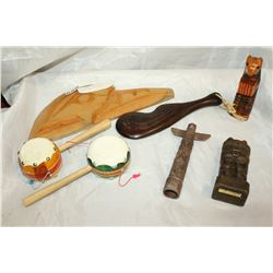 LOT OF FIRST NATION COLLECTIBLES