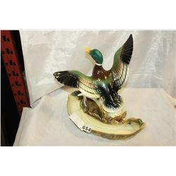 LANE AND COMPANY VINTAGE DUCK PLANTER