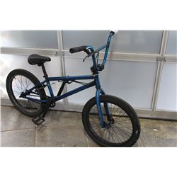 BLUE NO BRAND BMX
