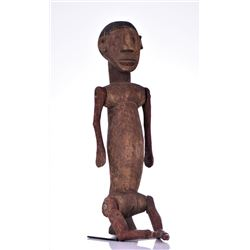 Rare Nyamwezi Articulated Puppet Figure,