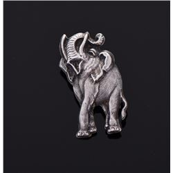 Vintage Siam Sterling Silver Elephant. Silver