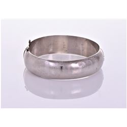 Vintage Sterling Silver cuff bracelet.