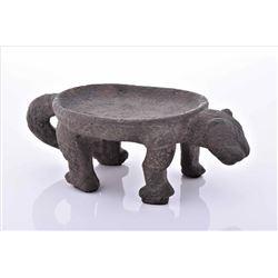 Pre-Columbian Jaguar Stone Metate.