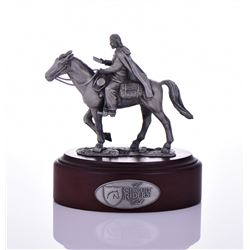 The Circuit Riders Club, Pewter Sculpture